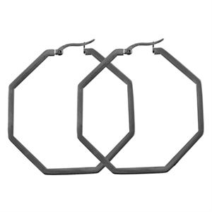 Picture of Graphite Octagonal Hoops